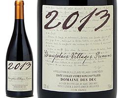 【08】ボージョレ・ヴィラージュ・ヌーヴォ Dm.デ・デュック 750ml【フランス新酒】