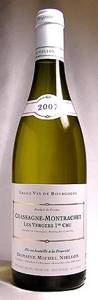シャサーニュ・モンラッシェ ブラン [2004]ミッシェル・ニーロンChassagne-Montrachet Blanc ...
